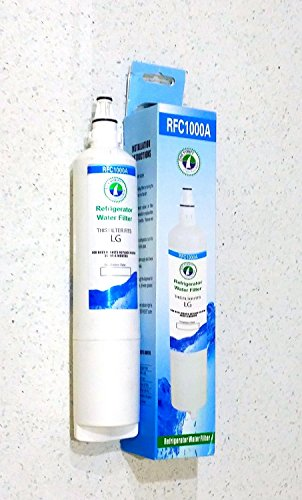 Lg And Kenmore Compatible Water Filter Lt600P, 5231Ja2005A, 5231Ja2005A-S, 5231Ja2006, 5231Ja2006A, 5231Ja2006A-S, 5231Ja2006B, 5231Ja2006B-S, 5231Ja2006E, 5231Ja2006F, 5231Ja2006F-S, 5231Ja2006H, 5231Jj2001C, Kenmore 9990, 9990P, 04609990000, 46-9990, 46 front-46090