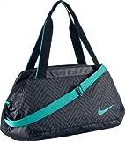 Nike Women's C72 Legend 2.0 Duffel Bag-Black/Black/Turbo Green, Medium
