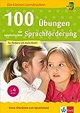 Klett 100 Übungen zur spielerischen Sprachförderung ab 4 Jahren