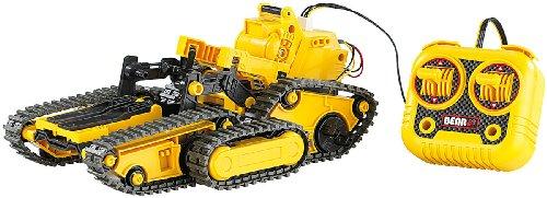 3in1 Geländegängiger Kettenroboter mit Kabel-Fernsteuerung (Bausatz)