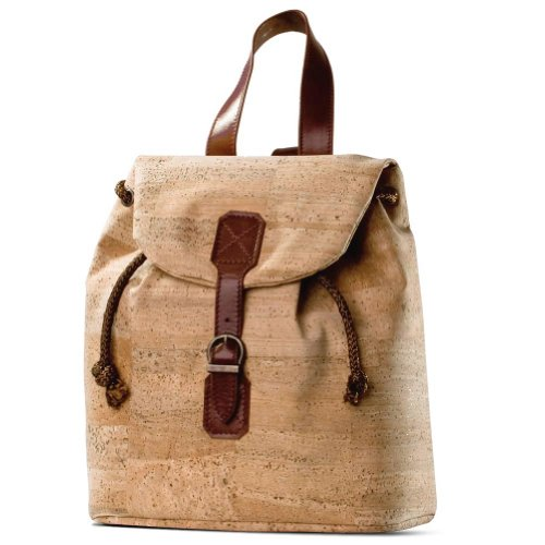 Corkor Backpack Natural Cork Cool Eco Friendly Green Backpacks