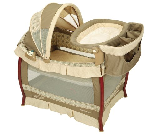 graco wood frame pack n play with bassinet changing table in marlowe for 239 99 with bassinet