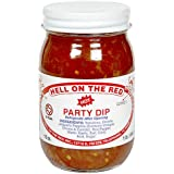 Hell on the Red Hot Party Dip Salsa, 16 oz (Pack of 2)