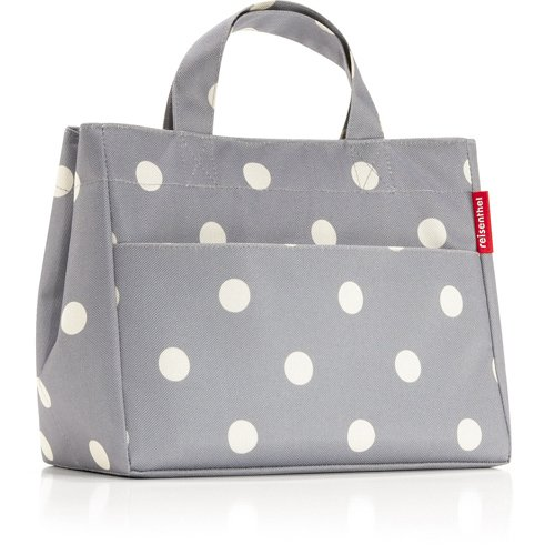 Reisenthel Insulated Gray Dots Lunch Bag S - 1