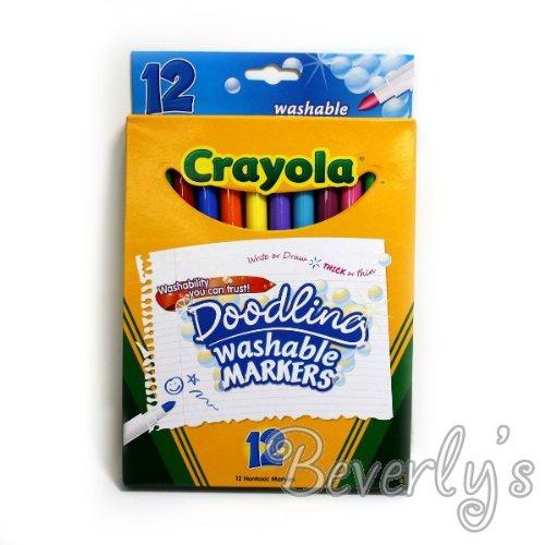 Crayola Doodling Washable Markers - Washability You Can Trust