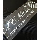 AC Milan (ACミラン)  自動車・バイク用 ステッカー / デカール 40cm幅 (ホワイトロゴver)