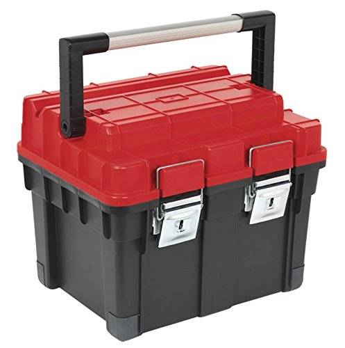 Sealey AP1112 Toolbox with Tote Tray, 440 mm