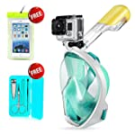 Mcoley 180 Degree Dry Full Face scuba...