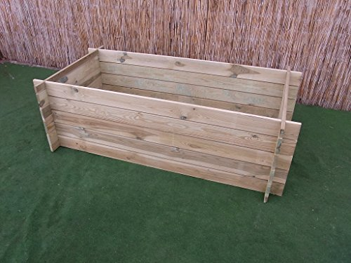 stabiler-Holzkomposter-Komposter-Kompostbehlter-Hochbeet-170-x-85-x-52-cm-19-mm
