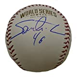 Santiago Casilla Autographed / Signed 2014 World Series Rawlings Official Game Baseball, San Francisco Giants, SF, WS, Proof Photo