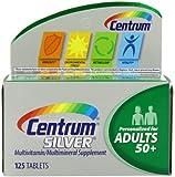 Centrum Silver Multivitamin Supplement, Adult, 125 Count