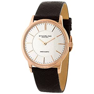 Stuhrling Original Men's Classic 'Newberry' Super Slim Quartz Watch - 238.3245K2
