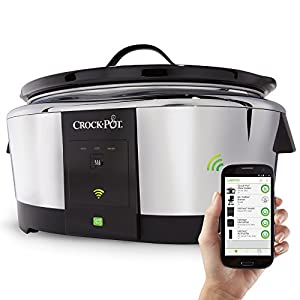 Amazon.com: Crock-Pot Smart Wifi-Enabled WeMo 6-Quart Slow Cooker