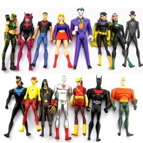 15 DC Universe Young Justice Super Hero Action Figures Ranging from 3.75
