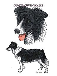 Border Collie - Double Image by Cindy Farmer