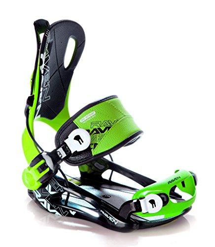 Snowboard Bindung Raven Fastec FT270 Green L oder XL