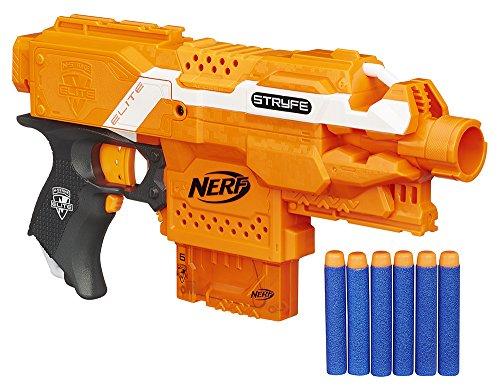 Nerf Elite - Lanzador Stryfe semi automático (Hasbro A0200E35)