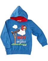 Angry birds - sweat-shirt à capuche - garçon