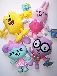 Wow Wow Wubbzy 4 pc set