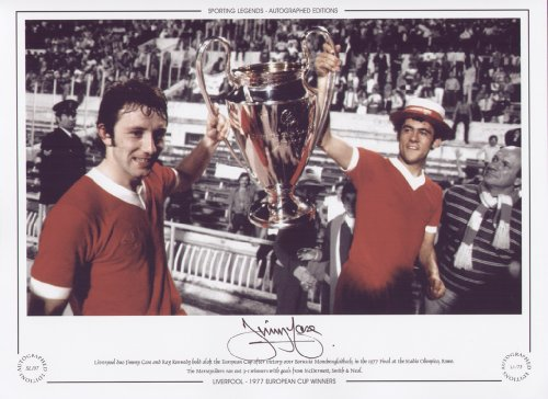 Jimmy Case Liverpool 1977 European Cup Final – Signed Limited Edition