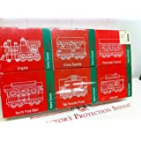 JC Penney Home Towne Express Christmas Train Cars 1998 Edition Six Cars