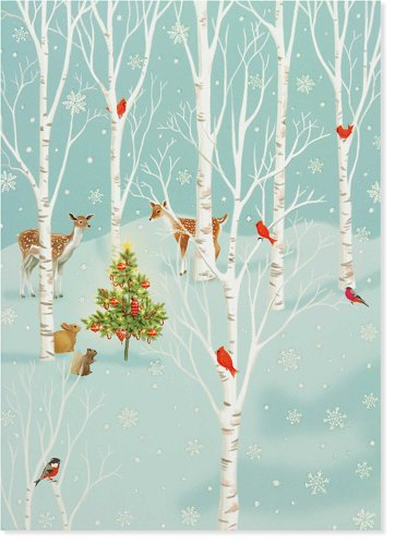 Enchanted Glade Holiday Cards