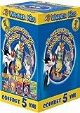 echange, troc Coffret Le Meilleur du Dessin animé 5 VHS : Space Jam / Titi et le tour du Monde en 80 chats / Scoubidou et les vampires / Tom