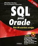 SQL pour Oracle (1DVD)