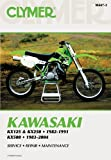 img - for Clymer Kawasaki Kx125 & Kx250 1982-1991, Kx500 1983-2004 (Clymer Motorcycle Repair) book / textbook / text book