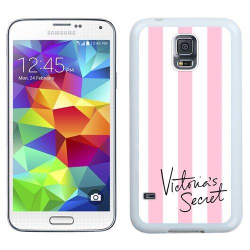 Unique Samsung Galaxy S5 Case Design with Victoria's Secret 01 White Phone Case for Samsung Galaxy S5
