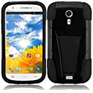 For BLU Studio 5.0 BLU Dash 5.0 Cover Case (T-Stand Black/Black)