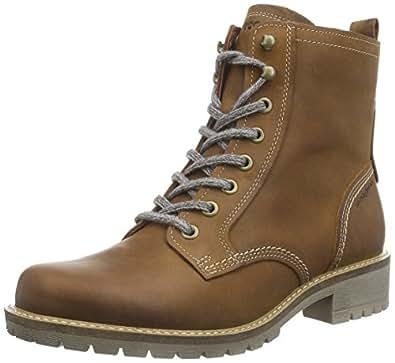 Ecco elaine women s combat boots amazon co uk shoes amp bags