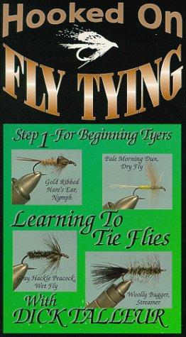 Hooked On Fly Tying, HDT5 Learning to Tie Flies Step 1- Dick Talleur [VHS]