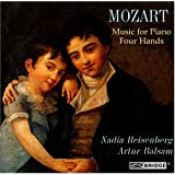 Mozart: Music for Piano Four Hands