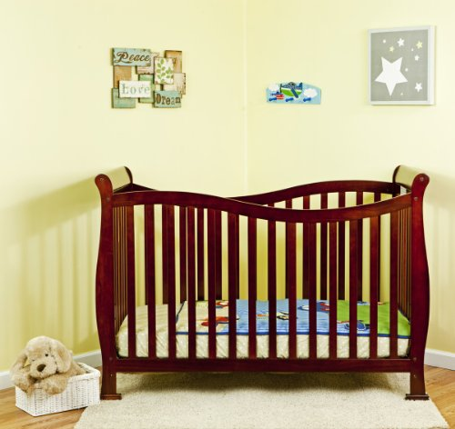 Cherry Wood Cribs front-6603
