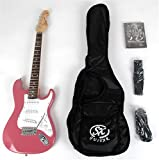 SX EG1K 3/4 BGMY Short Scale Guitar Package with Amp, Carry Bag and Instructional DVD
