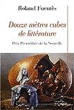 """Afficher """"Douze mètres cubes de littérature"""""""