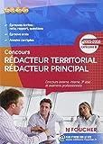 Rédacteur territorial Rédacteur principal catégorie B. 2015 - 2016...