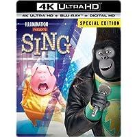 Sing SteelBook on Digital Copy/ 4K Ultra HD/ Blu-ray