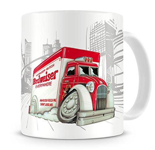 koolart-cartoon-caricature-of-trucks-budweiser-truck-coffee-mug