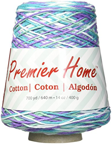 Premier Yarns 1032-06 Home Cotton Yarn - Multi Cone-Water Lilies (Yarn Cotton Cone compare prices)