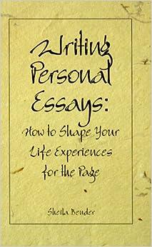 definiton of personal essay