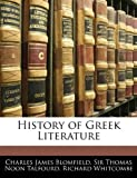 img - for History of Greek Literature book / textbook / text book