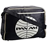 Logoshirt Unisex-Adult Pan AM Street Fake Landscape Format Messenger Bag