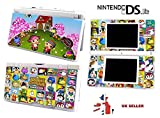 ANIMAL CROSSING DESIGN Nintendo Ds Lite Console Vinyl Skin STICKER Cover In a Retail Pack. Order Before 4pm and ill post the same day by Fast 1st Class UK Post.