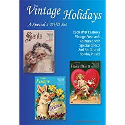 Vintage Holidays 3 DVD Set
