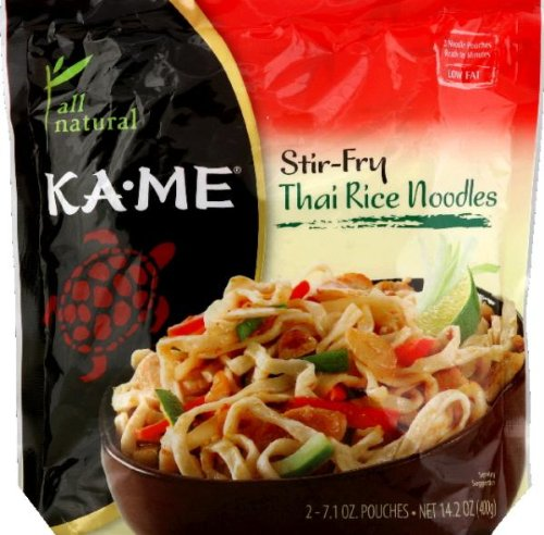 KA ME NOODLE 2PK STRFRY THAI RICE, 14.2 OZ (Kame Thai Rice Stir Fry Noodles compare prices)
