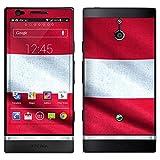 """atFoliX Designfolie """"�sterreich Flagge"""" f�r Sony Xperia P Design Skin Aufklebervon """"Designfolien@FoliX"""""""