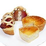 青森県産 りんごまるごとアップルパイ(チーズ風味)&長芋チーズタルトセット
