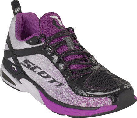 Scott Women's eRide Support2 Athletic Shoes,White/Violet,8 M US